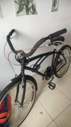 Título do anúncio: Bicicleta Preto Fosco Aro 26