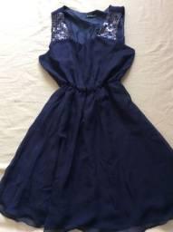Bazar :Vestido Crepe P a M