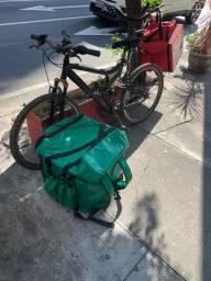 Entregador bike