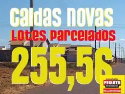 CALDAS NOVAS LOTES NA PROMISSÓRIA 255 MENSAIS