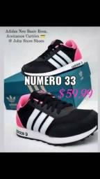 Título do anúncio: Tenis adidas neo rosa Black