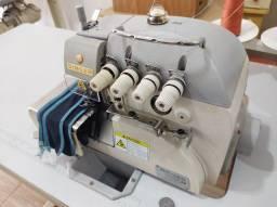 Título do anúncio: Máquina de costura overlock ponto cadeia Singer