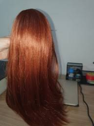 Título do anúncio: Rabo de cavalo americano - cabelo vermelho