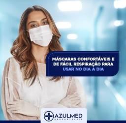Máscara Cirúrgica Descatável - Caixa com 50 unidades