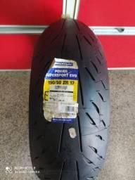 Pneu Moto Michelin Novo 190/50-17  Power Super Sport