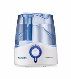 Título do anúncio: Vendo Umidificador de Ar Mondial Ultrassônico 4 Litros Azul Bivolt
