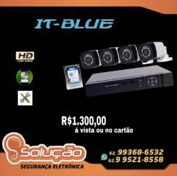 Título do anúncio: Câmeras de Segurança 1.300,00