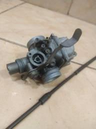 Título do anúncio: Carburador e cabo do acelerador