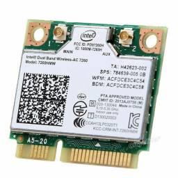 Placa de rede Wi-Fi Intel AC *HMW 802.11ac Mini PCI-E