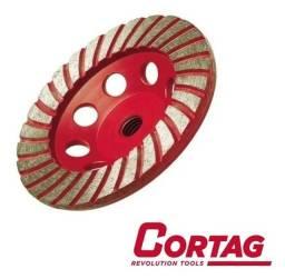 Título do anúncio: Rebolo Diamantado Turbo 115mm Cortag