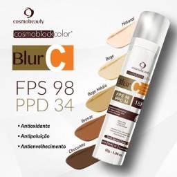 Blur C - cor: natural - FPS 98 c/ vitamina C pura e ácido hialurônico