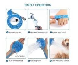 Título do anúncio: Mangueira de Banho para Pets - Luva D'agua -c109