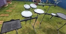 Título do anúncio: Kit Percussão Compacta + Rack + Brindes