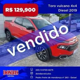 Toro vulcano 4x4 diesel 2015