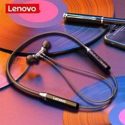 Fone de Ouvido bluetooth Lenovo HE05 Esportes Original Lacrado