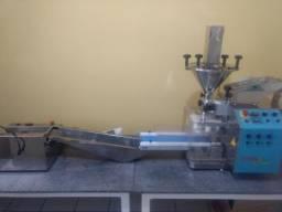 Máquina de salgados Bralyx 3.0 + Maquina para empanar