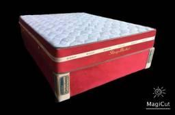 """Título do anúncio: Conjunto""""cama""""casal molas ensacada individual"""