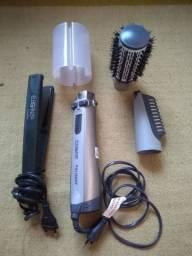 Chapinha e secador escova