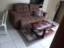 Sofa reclinavel +tapete+mesa de sala
