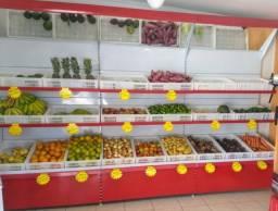 Gôndola frutas e verduras