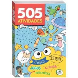 Livro infantil de atividades