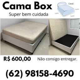 Título do anúncio: Cama Box - com colchão (Super bem cuidada!)