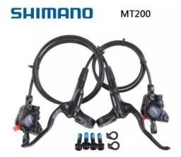 Título do anúncio: Freio SHIMANO MT200 - O PAR