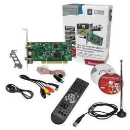Título do anúncio: Placa De Tv Pci Controle Remoto Analogia Kworld Kw-tv7134se