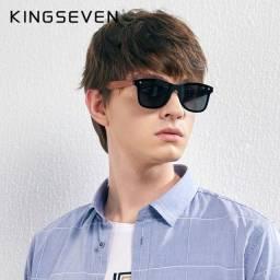 Óculos de sol KingSeven Polarizado UV 400 modelo lançamento