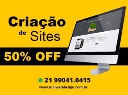 Título do anúncio: criação de site profissional websites entrega rápida preço baixo