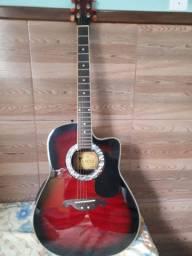 Vendo violão da marca eagle fundo de fibra