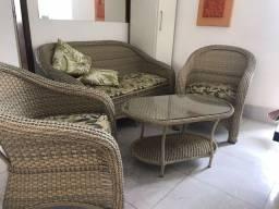 Título do anúncio: conjunto sofá poltrona para varanda / área gourmet