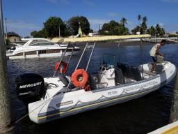Flexboat Tour + Mercury 200hp R$ 65mil - 2009