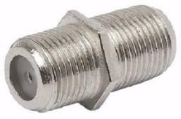 Emenda Coaxial para cabo coaxial conectores RG6/RG59