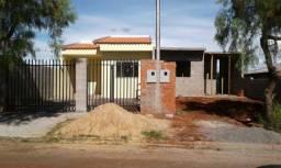 Casa jd Aeroporto 2 qtos + porão 50 m2 c 2 lajes 145 mil reais ac carro ou outro imovel