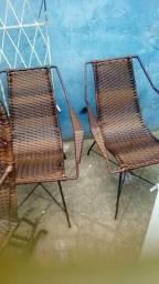 Cadeiras artezanas