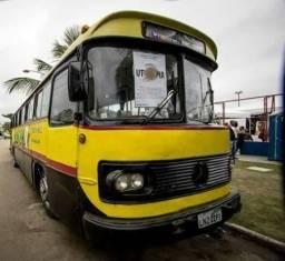 Ônibus Monobloco, mecânica ok e pneus novos - Troco por Van ou Carro do meu interesse