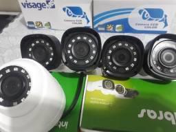 Câmeras digitais CFTV