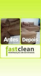 FastClean Higienização em estofados