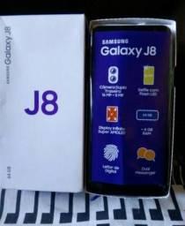 Celular j8 plus 128 gb - preto