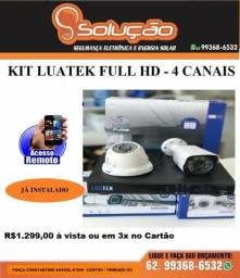 Câmera de segurança eletrônico Luatek