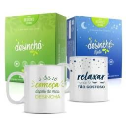 Desinchá e Desinchá Noite + Canecas Dia e Noite