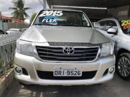 TOYOTA HILUX 2014/2015 2.7 SR 4X2 CD 16V FLEX 4P AUTOMÁTICO - 2015