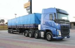 Caminhão: volvo fh 500 - ano: 2016 - km: 456.001 - passageiros: 2 - tração: 8x2 - 2016