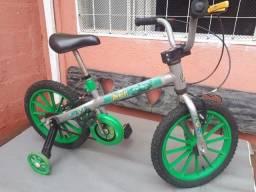 Bicicleta Infantil Aro 16 Avengers - Hulk