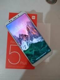 Xiaomi redmi 5 plus 64 GB novo na caixa com nota fiscal