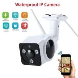 Câmera IP Externa Wifi Visão Noturna 960 p - Fazemos Entregas