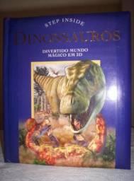 Livro Dinossauro em 3D