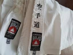 Kimono De Karatê Dojô Lona Standard Pa Canelado Adulto A4
