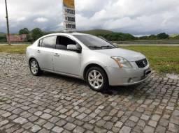 Nissan Sentra 2009 SL com gás - 2009